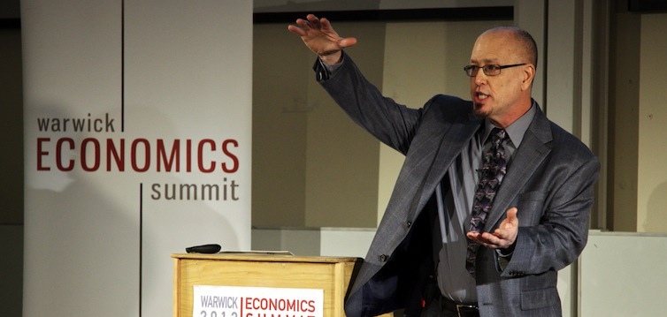 Professor_Steven_E._Landsburg_speaking_at_Warwick_Economics_Summit_2012-feat