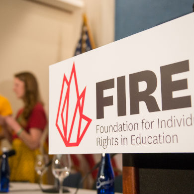 Help FIRE Fight Back: Support Our Stand Up For Speech Litigation Project