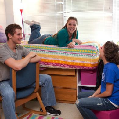 College Students Get Comfortable—Often, Too Comfortable