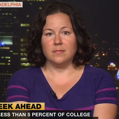 Samantha Harris Addresses Campus Sexual Assault on Al Jazeera America
