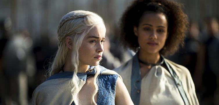 Game of thrones Daenerys Targarean-feat