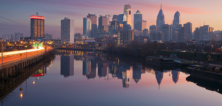 Philadelphia skyline-feat