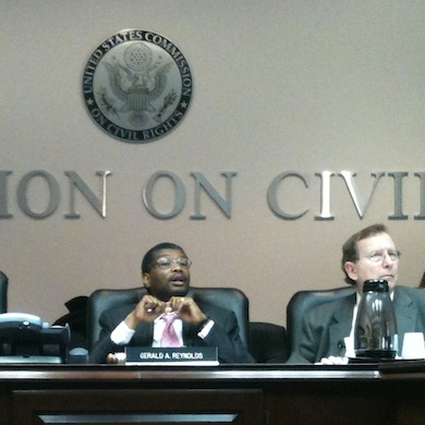 Members of U.S. Commission on Civil Rights Criticize OCR Overreach