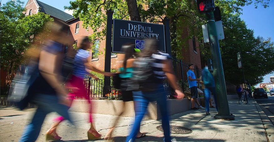 DePaul outside speaker review policy predictably bad on free speech