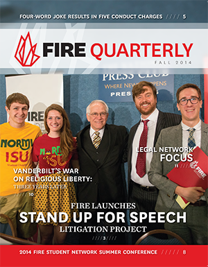 FIRE Fall Quarterly 2014