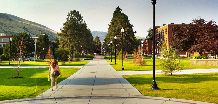 University of Montana Campus feat
