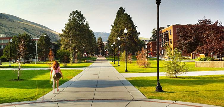 University of Montana Campus feat