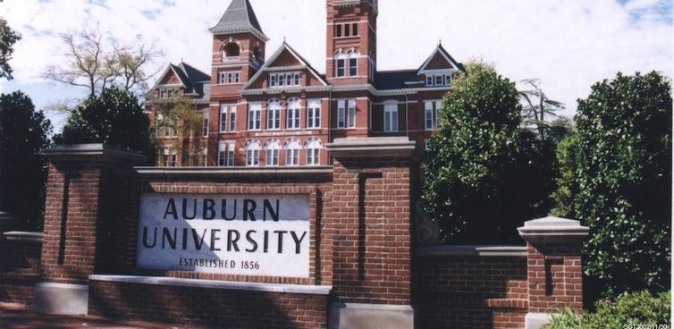 auburn university sign