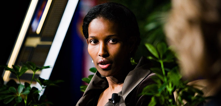 Portrait of Ayaan Hirsi Ali