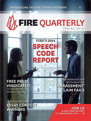 FIRE Spring Quarterly 2014