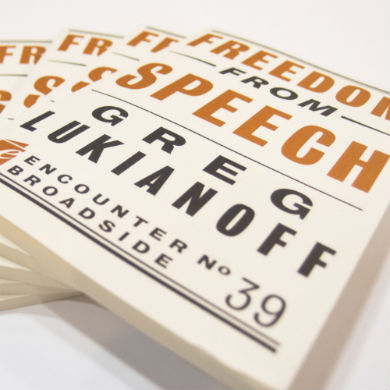Best of 'The Torch': When Empathy Shuts Down Debate: A Review of 'Freedom From Speech'