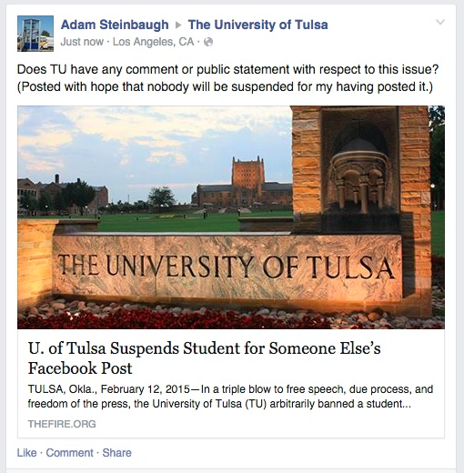 Tulsa Facebook at 12.32.11
