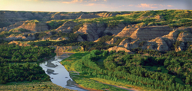 North Dakota Plateaus-feat