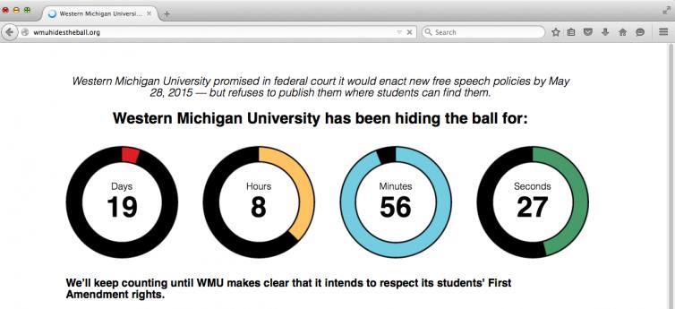 WMU Hides The Ball Site Sreenshot-3