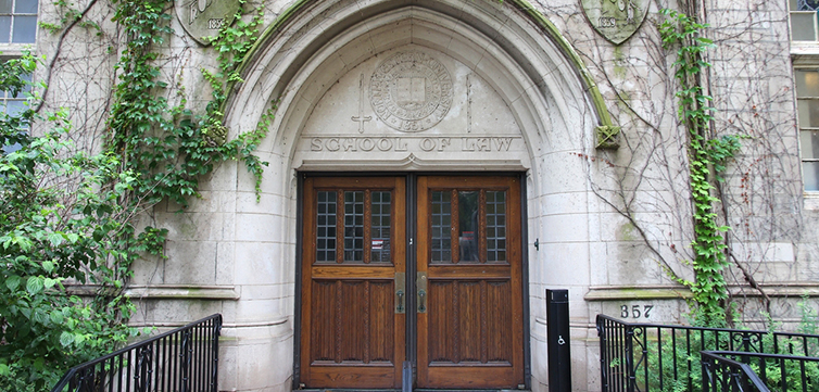 Northwestern University entrance school of law-feat