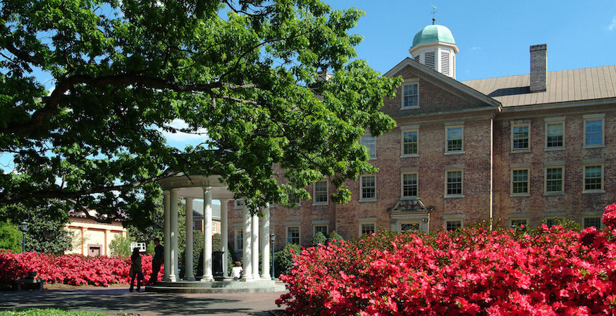 University of North Carolina at Chapel Hill Earns FIRE's Highest Rating for Free Speech