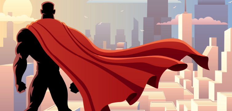 comic book hero feature