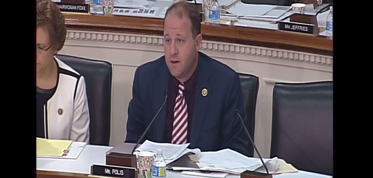 Jared Polis Congressional Testimony Hearing feat
