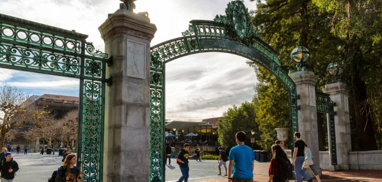 University of California Berkeley Gates feat