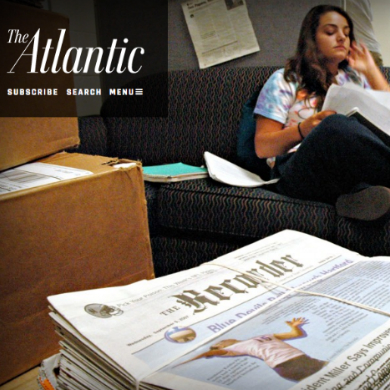 'The Atlantic': Student Journalists Nationwide Fight First Amendment Battles