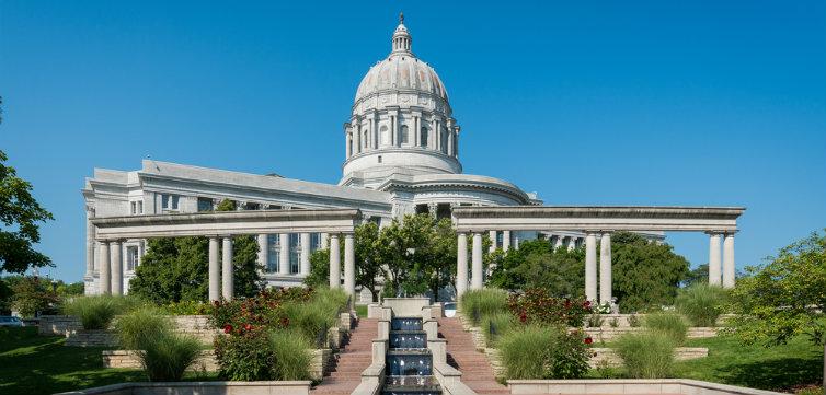 Missouri Capitol Building Jefferson City feat