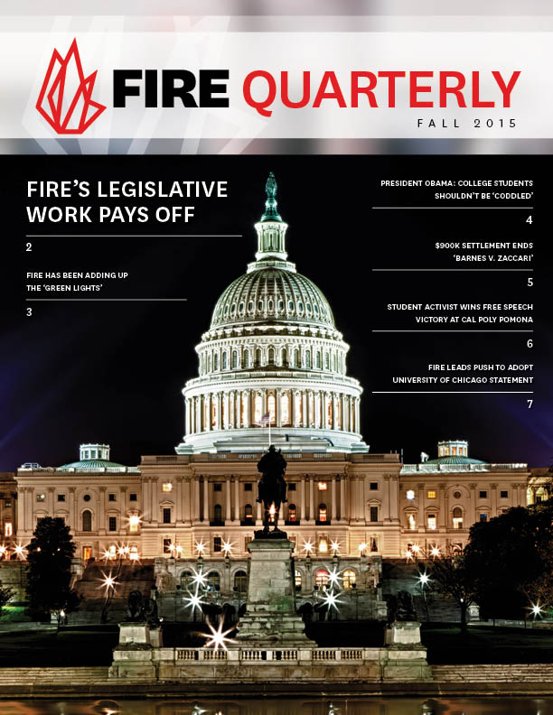 FIRE Fall Quarterly 2015