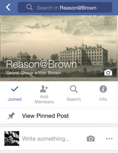 Reason@Brown facebook grab