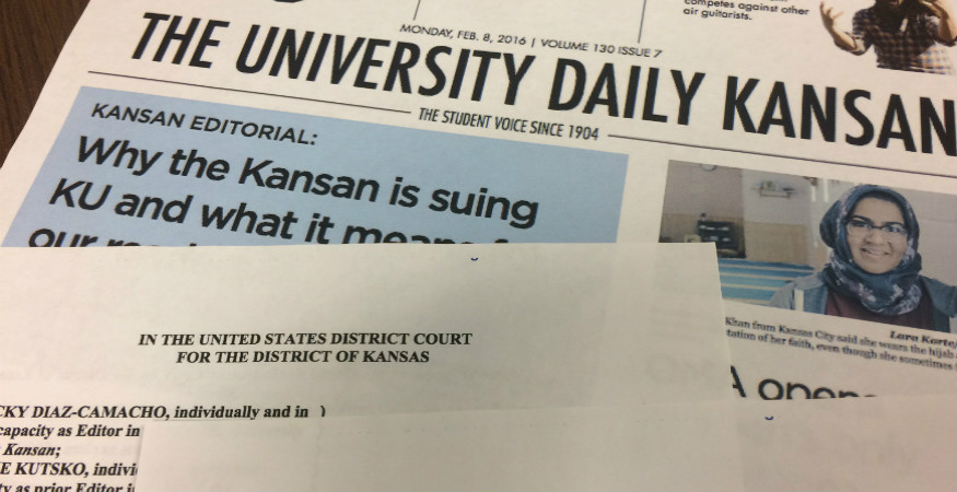 Student Newspaper's First Amendment Lawsuit Against University of Kansas Administrators Is Important Reminder about Need to Check Student Government Power