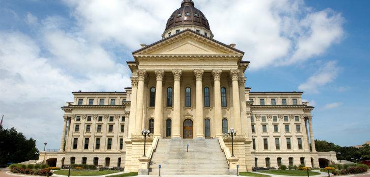 Kansas State Capitol Topeka feat