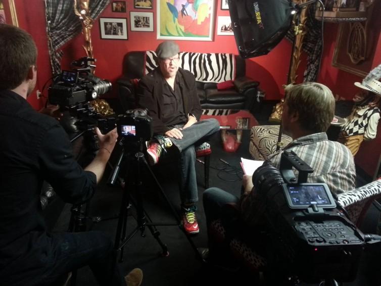 interviewing penn jillette cwtaj