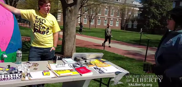 yal video delaware police censorship feat