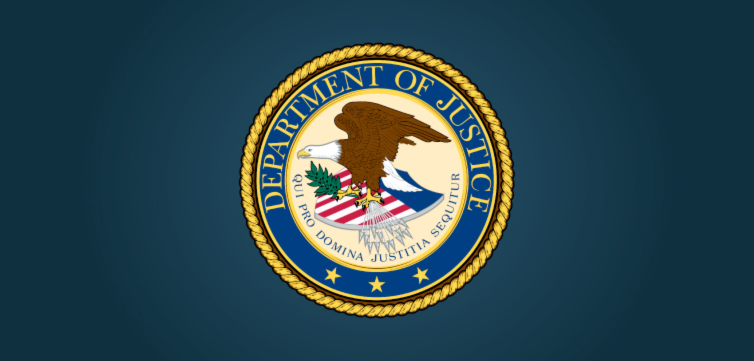 DOJ Department of Justice logo FEAT