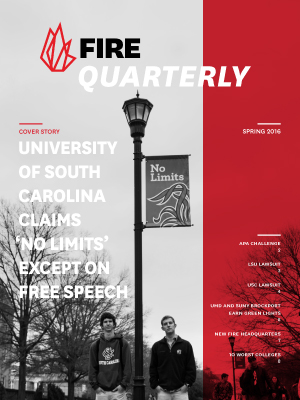 FIRE Spring Quarterly 2016