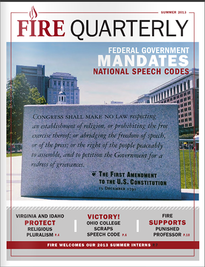 FIRE Summer Quarterly 2013