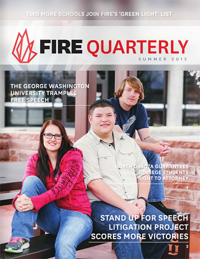 FIRE Summer Quarterly 2015