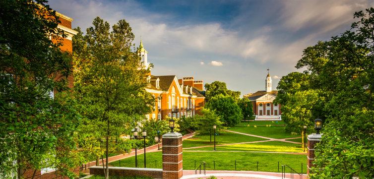 Johns Hopkins Quad Feat