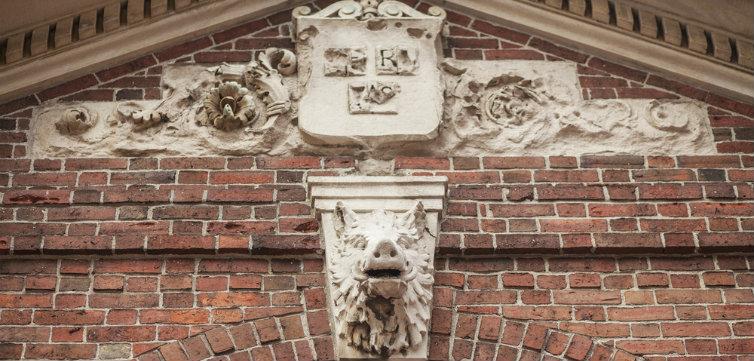 harvard brick gate feat