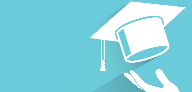 alumni graduation cap feat