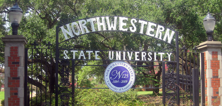 northwestern state university louisiana Billy Hathorn-CC BY-SA 3.0, modified from original. feat