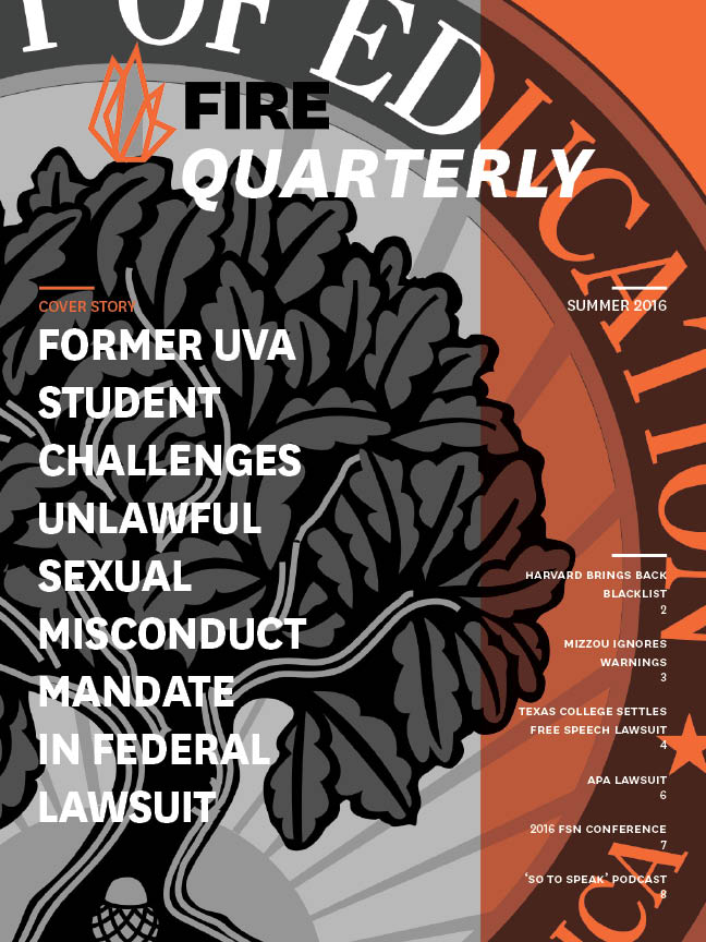 2016 Summer Quarterly cover