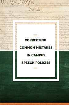 Correcting Common Mistakes in Campus Speech Policies