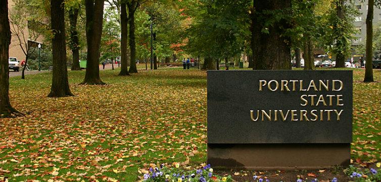 Portland State CC BY-SA 3.0 Kkmd at the English language Wikipedia feat