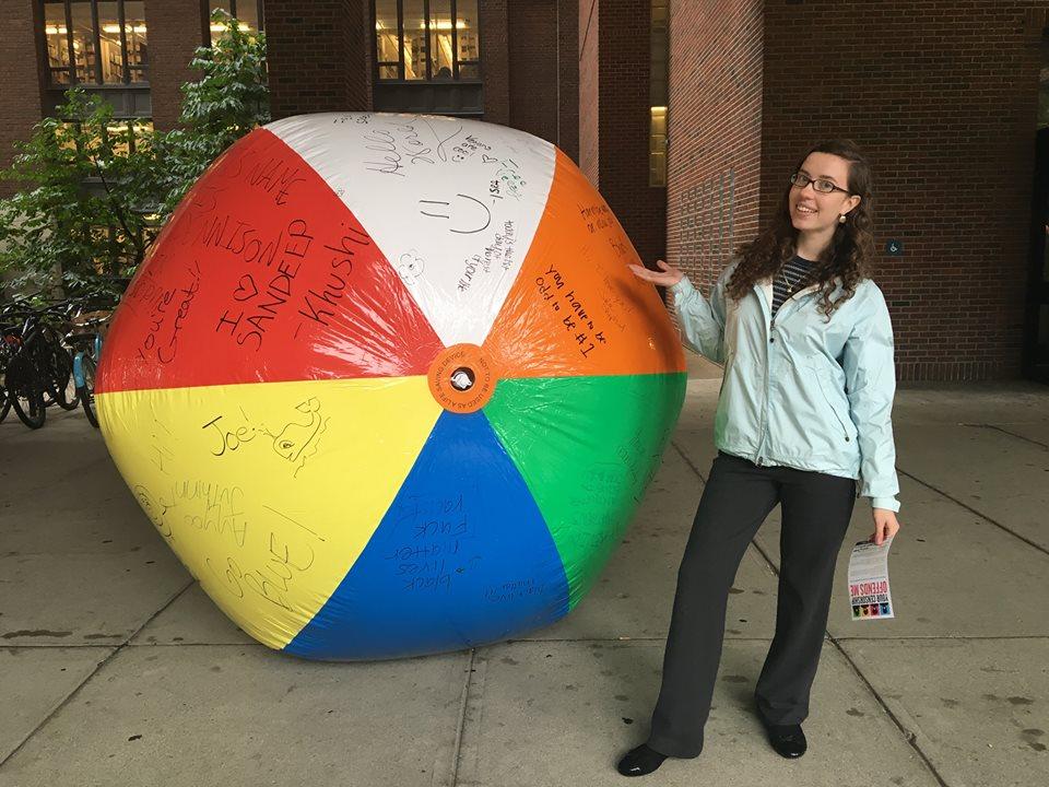 Erin Dunne Free Speech Ball