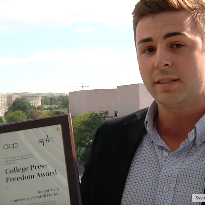 'Knight News' Wins College Press Freedom Award, Vows Continued Fight Against UCF