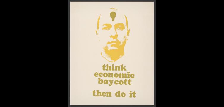 boycott poster feature
