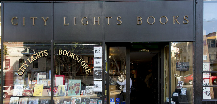 city lights book store feature
