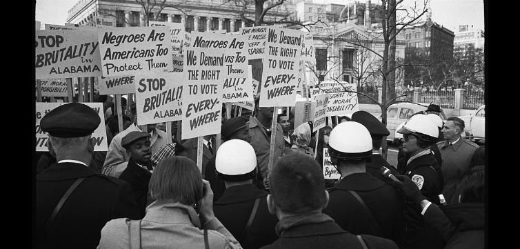 civil rights protest feature