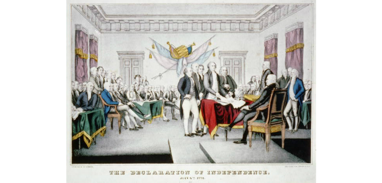 Declaration of Independence feature