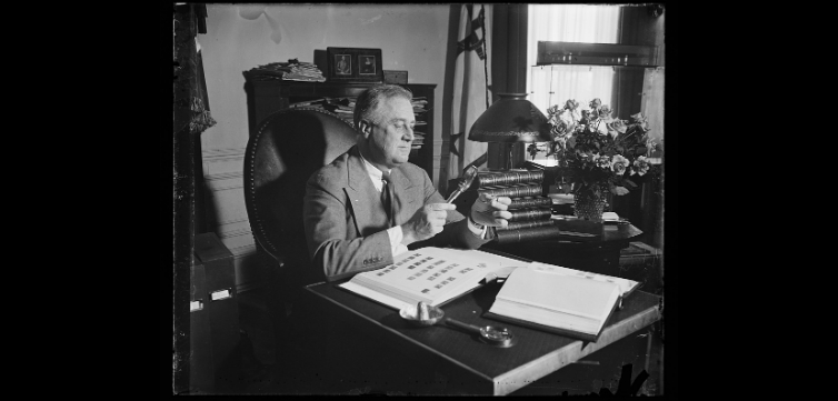 President Roosevelt Pardons Those Convicted Under the Espionage and