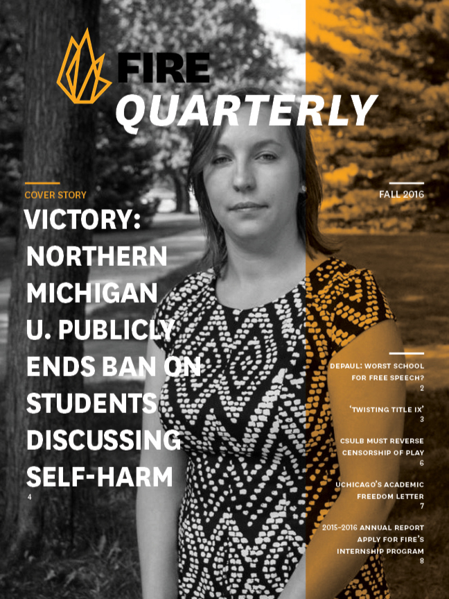 FIRE Fall Quarterly 2016